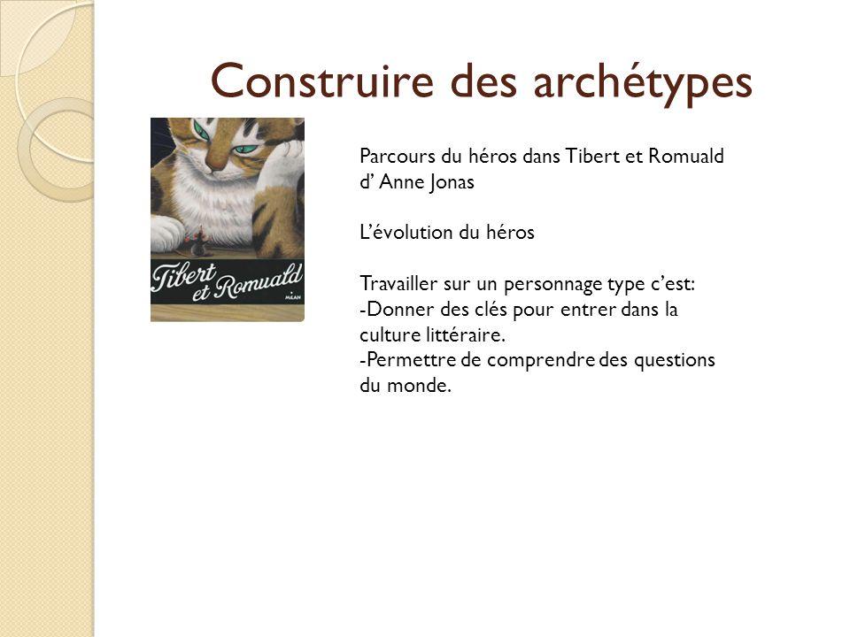 Construire des archétypes
