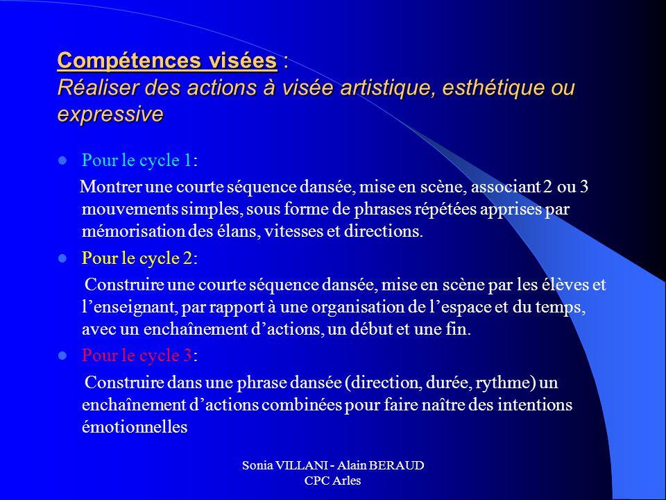 Sonia VILLANI - Alain BERAUD CPC Arles