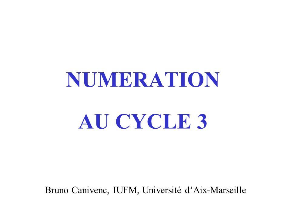 Bruno Canivenc, IUFM, Université d'Aix-Marseille