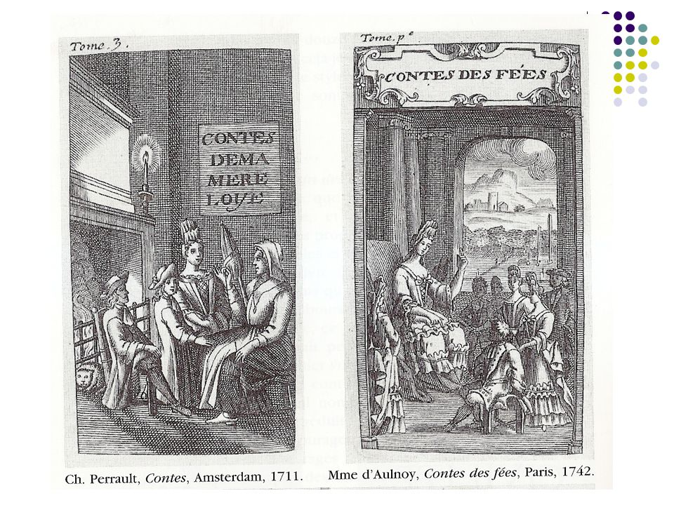 Parution des contes de Perrault en 1697