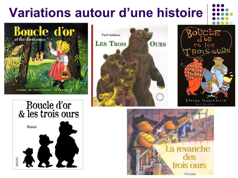 Variations autour d'une histoire