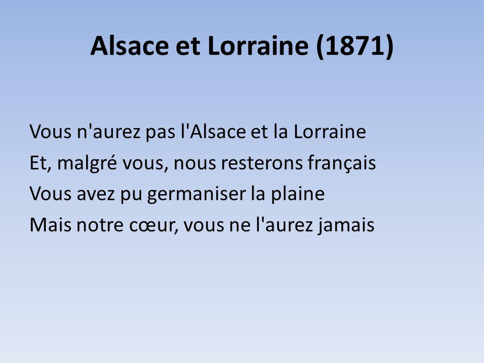 Alsace et Lorraine (1871)