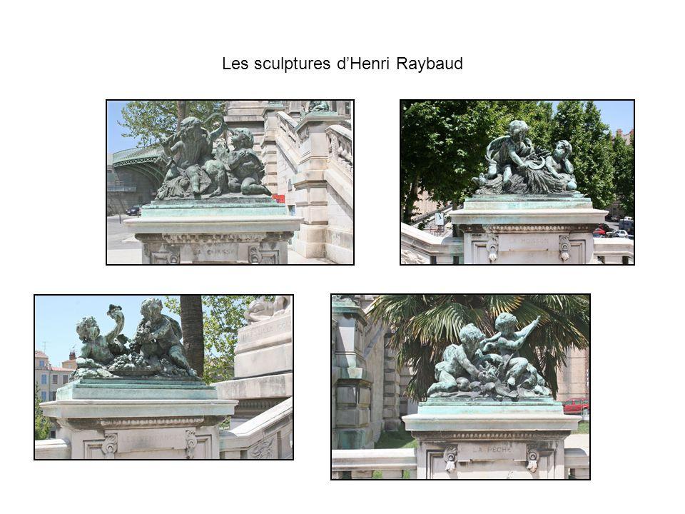 Les sculptures d'Henri Raybaud