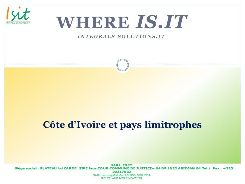 Côte d'Ivoire et pays limitrophes