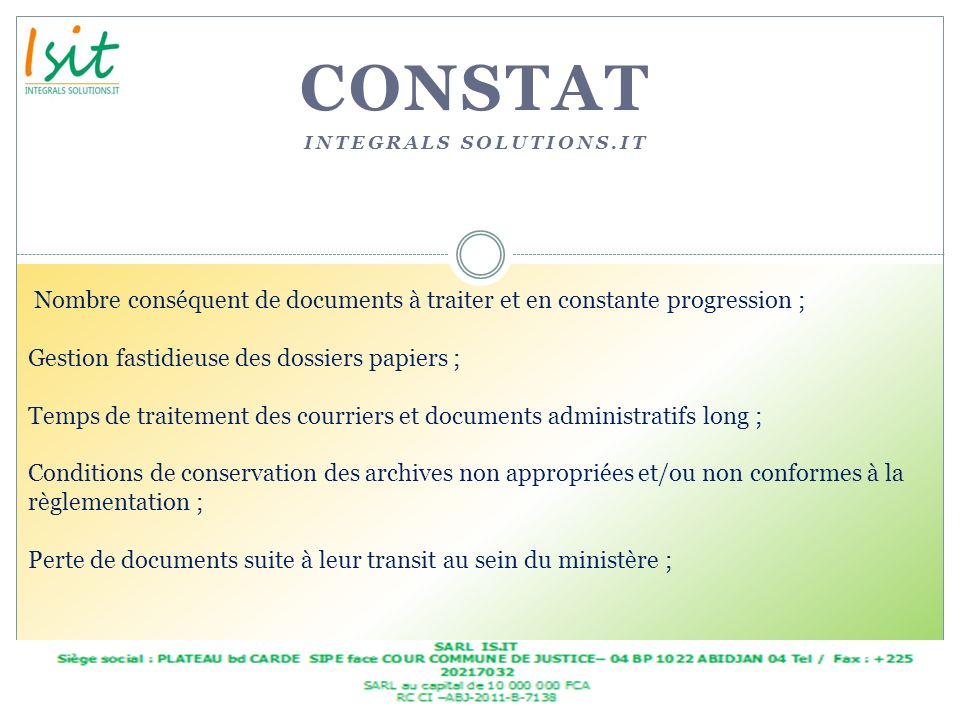 Constat Integrals solutions.it