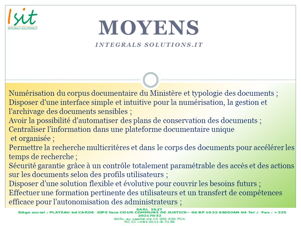 MOYENS Integrals solutions.it