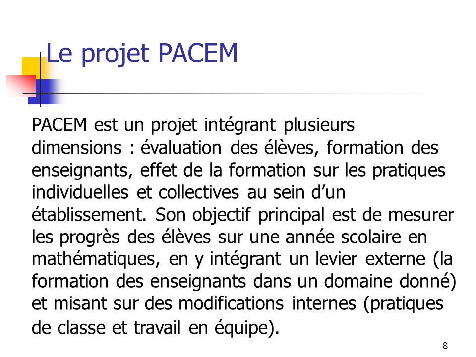 Le projet PACEM