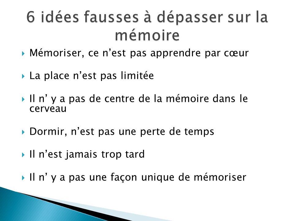 6 idées fausses à dépasser sur la mémoire