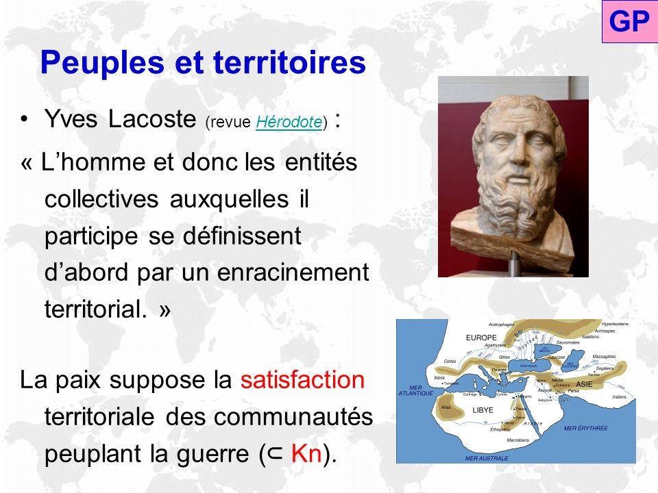 Peuples et territoires