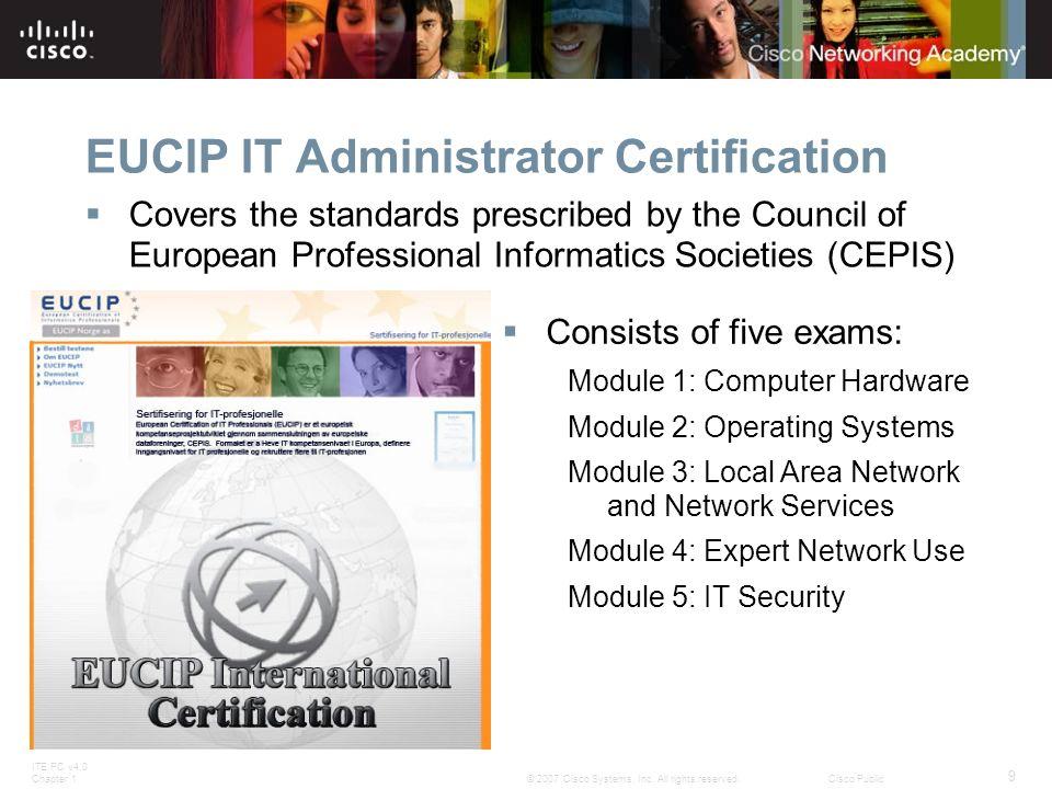 EUCIP IT Administrator Certification