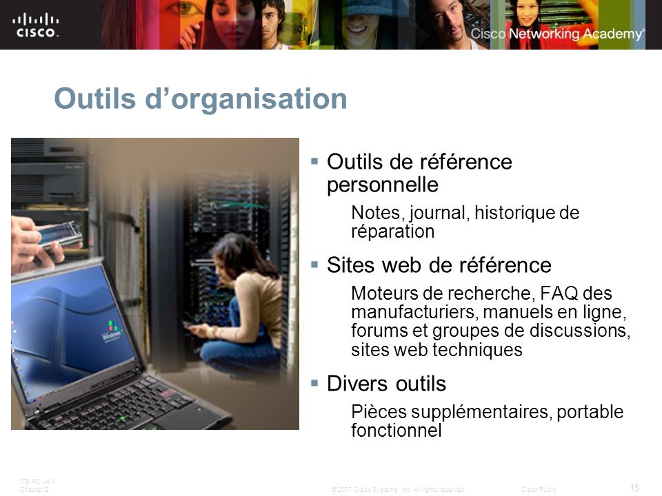 Outils d'organisation