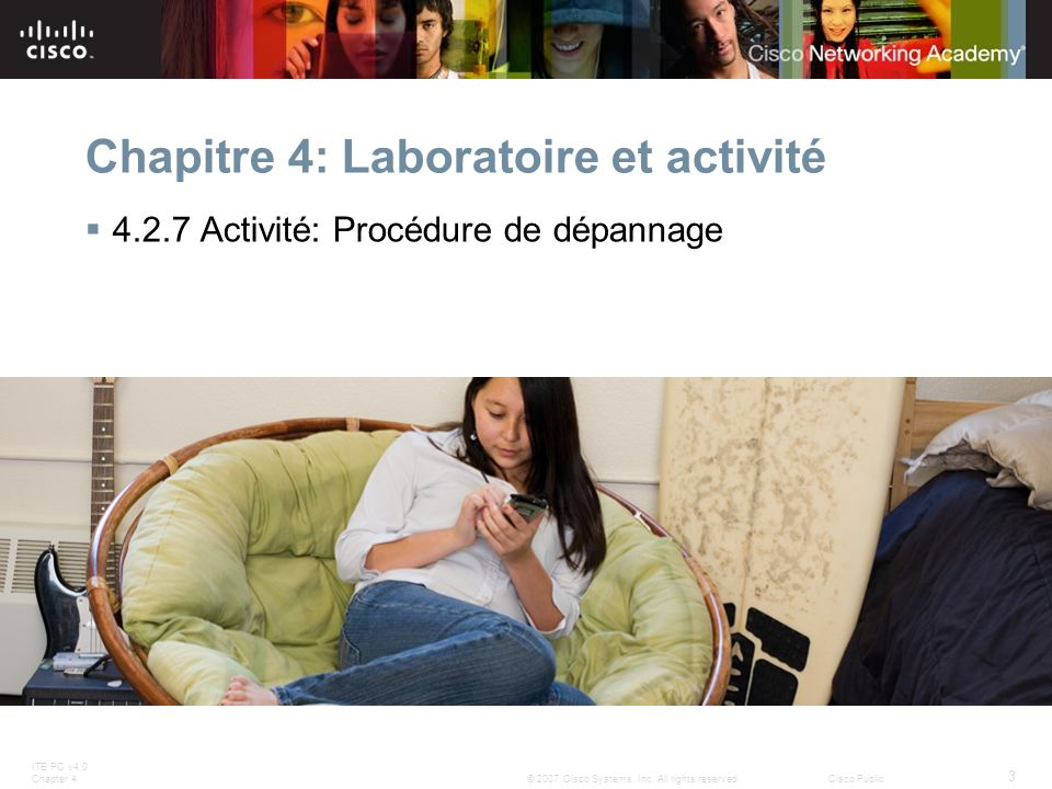 Chapitre 4: Laboratoire et activité