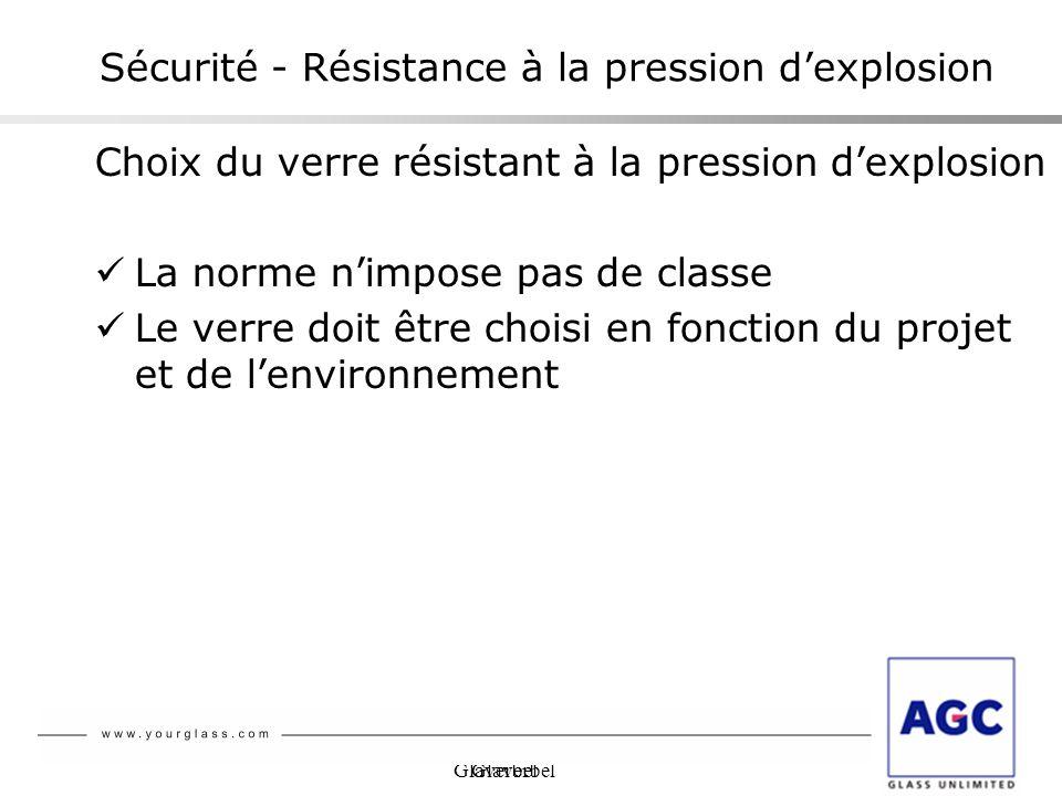 Sécurité - Résistance à la pression d'explosion