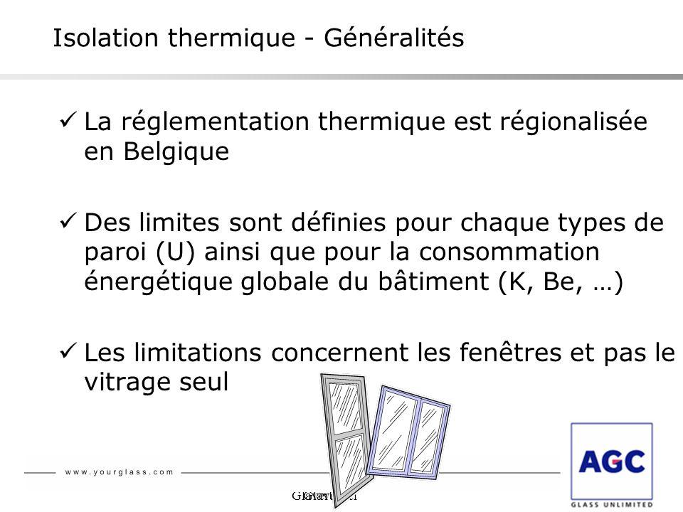 Isolation thermique - Généralités