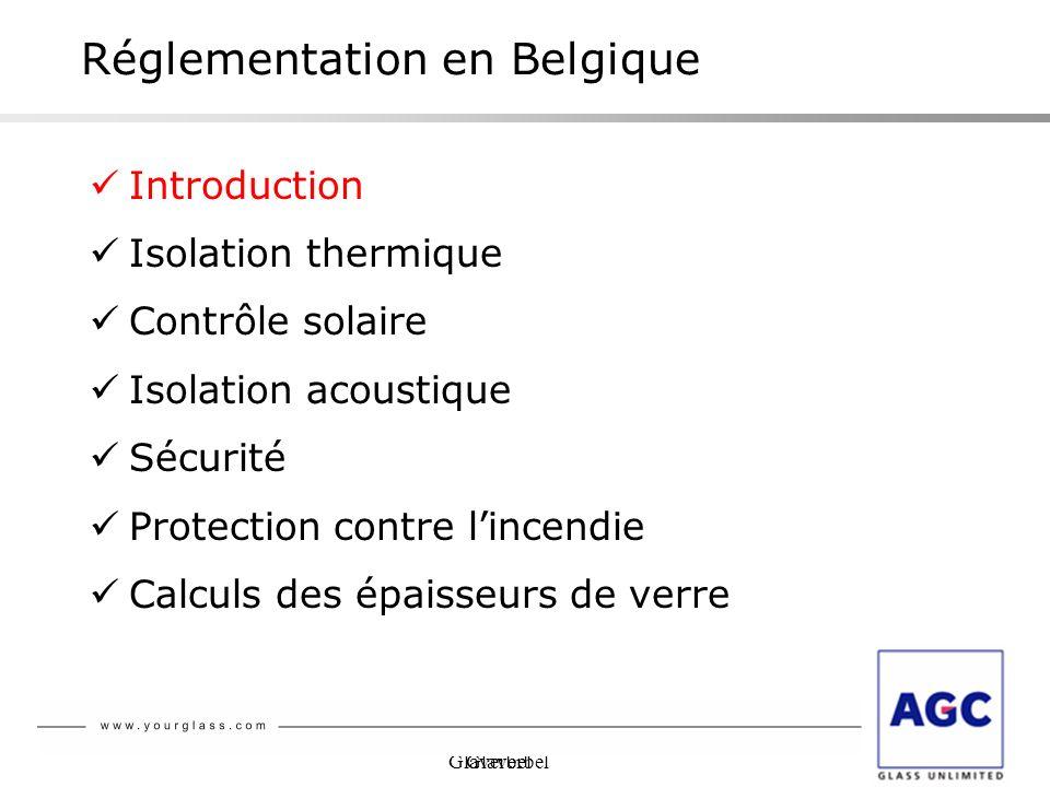 Réglementation en Belgique