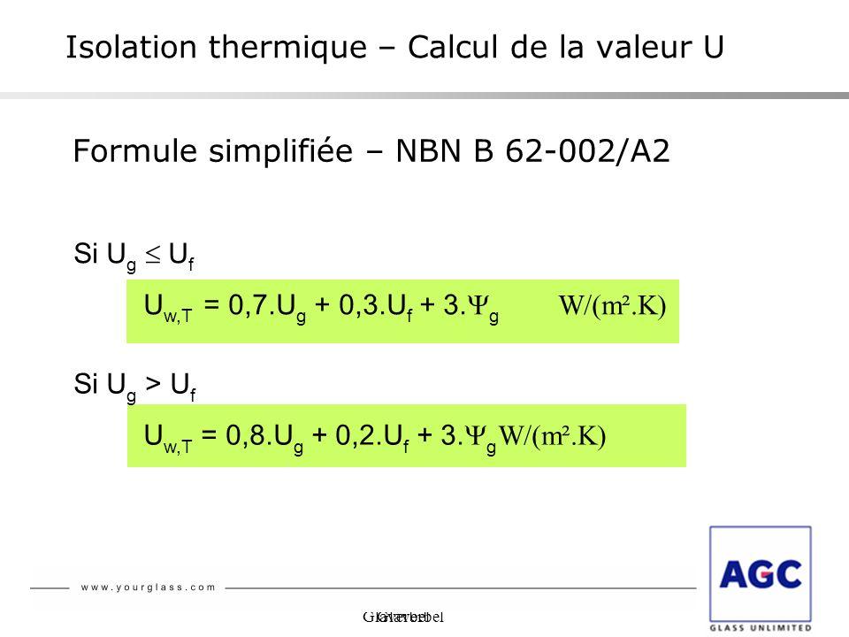 Isolation thermique – Calcul de la valeur U