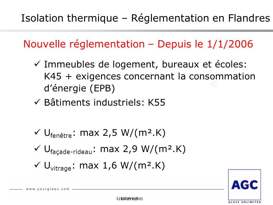 Isolation thermique – Réglementation en Flandres