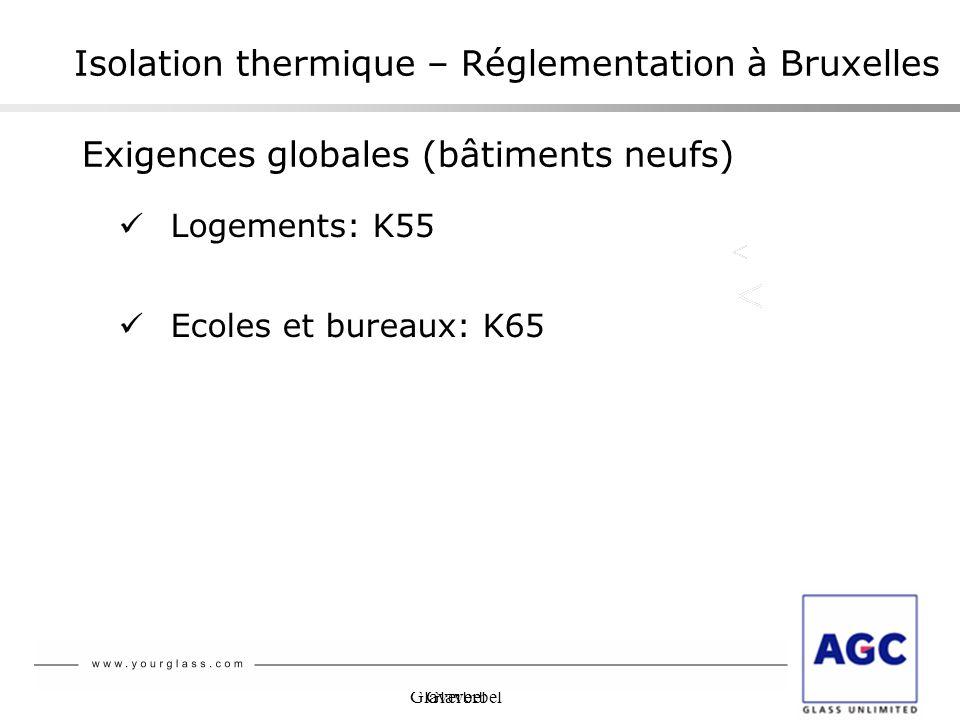 Isolation thermique – Réglementation à Bruxelles