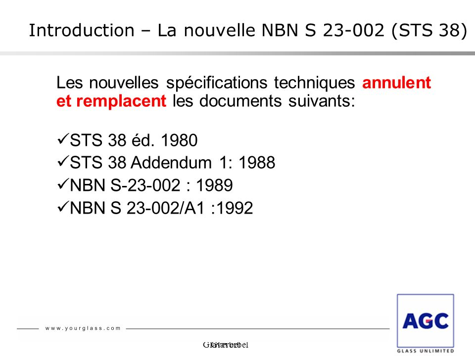 Introduction – La nouvelle NBN S (STS 38)