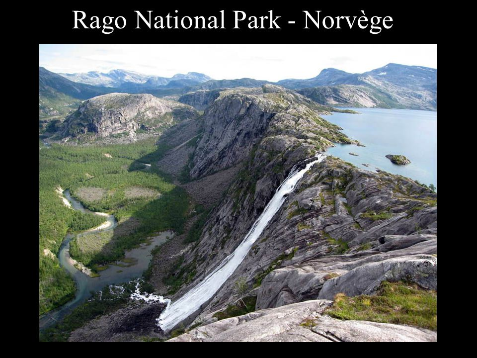 Rago National Park - Norvège