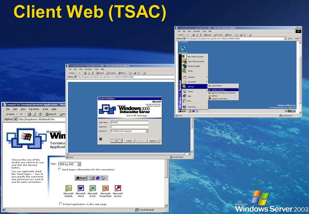 Client Web (TSAC)
