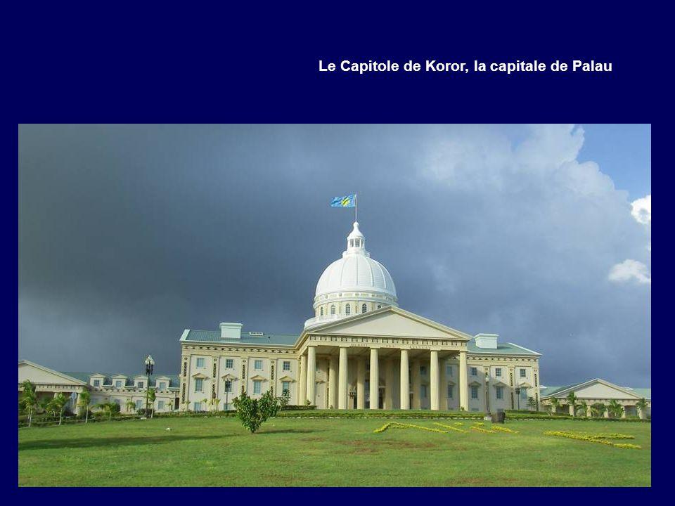 Le Capitole de Koror, la capitale de Palau
