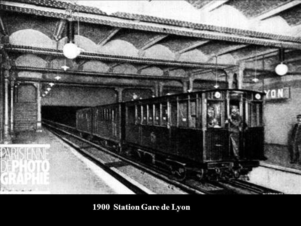1900 Station Gare de Lyon