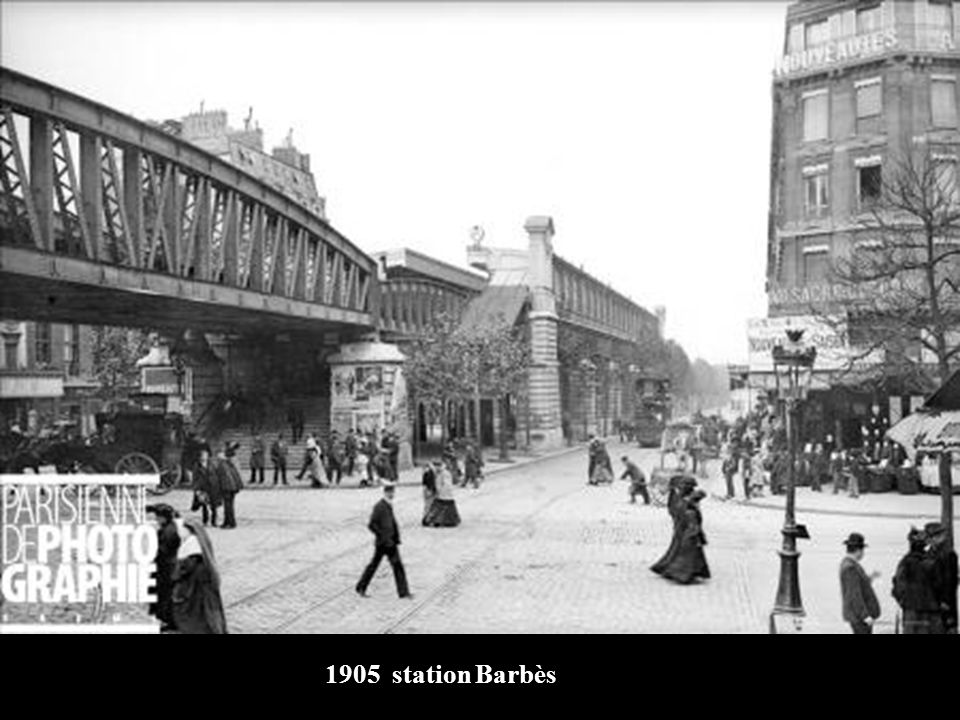 1905 station Barbès