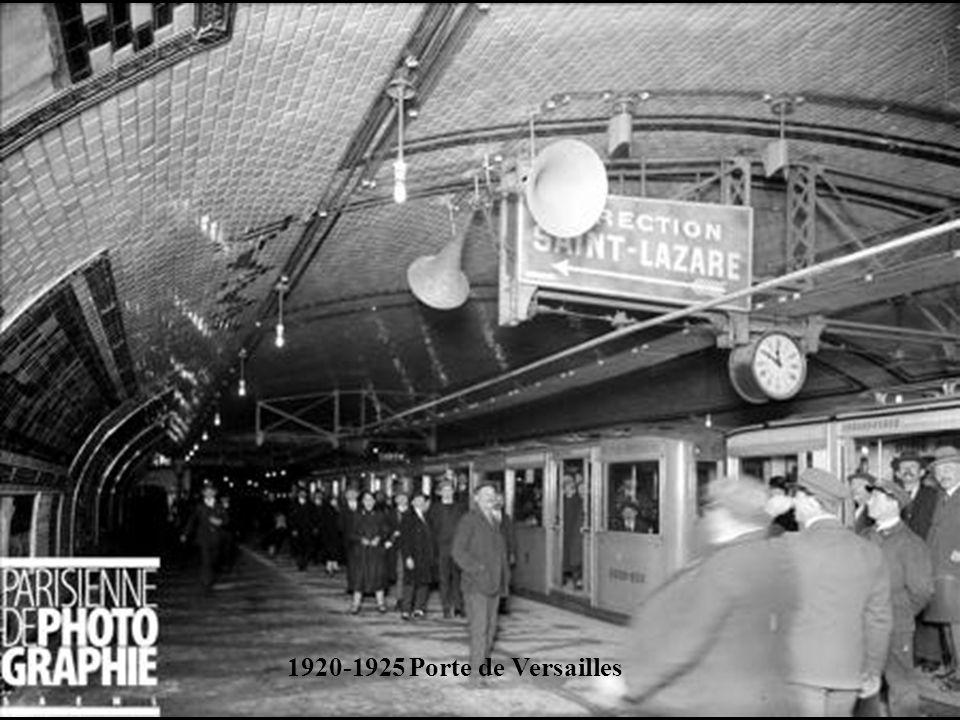 1920-1925 Porte de Versailles
