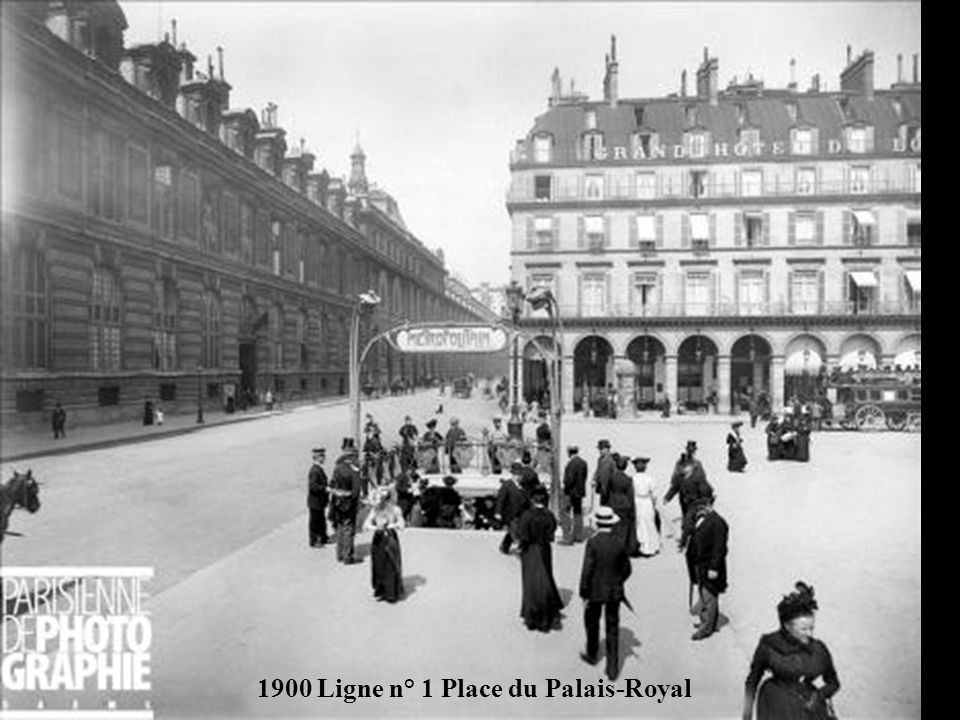 1900 Ligne n° 1 Place du Palais-Royal