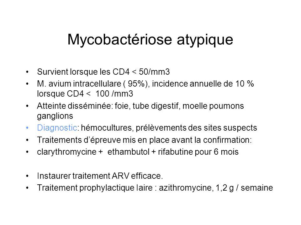 Mycobactériose atypique