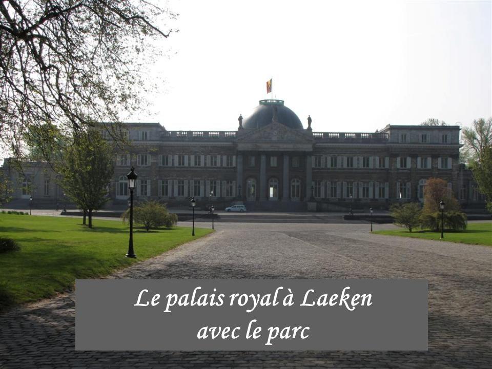 Le palais royal à Laeken