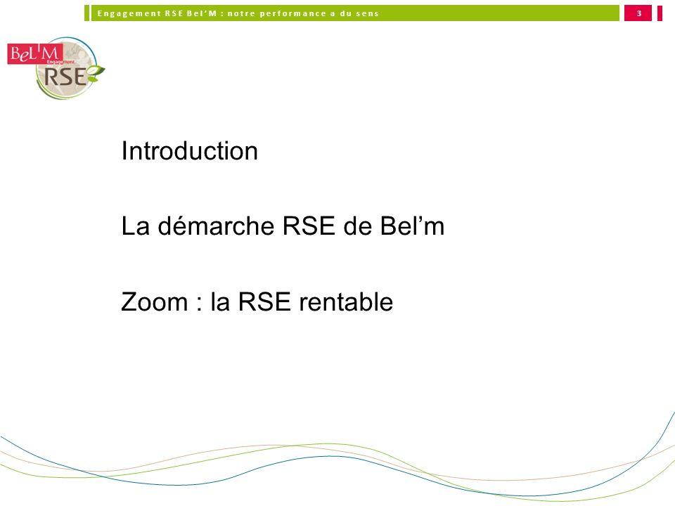 La démarche RSE de Bel'm Zoom : la RSE rentable