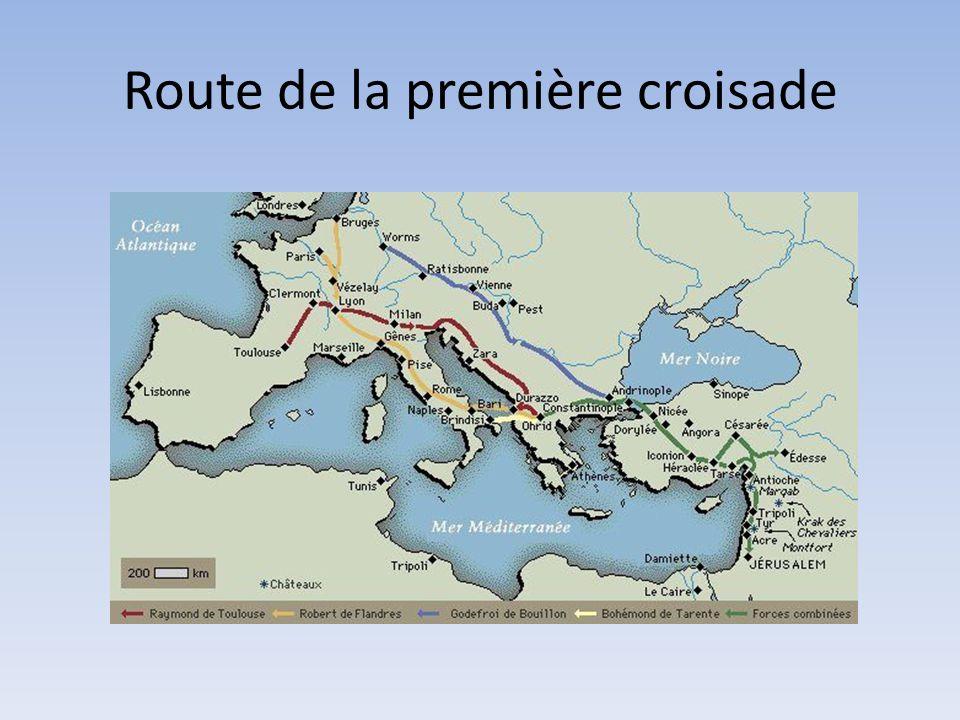 Route de la première croisade