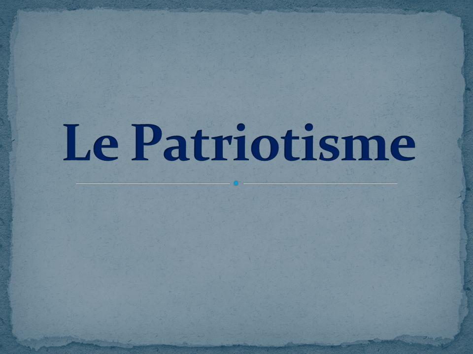 Le Patriotisme
