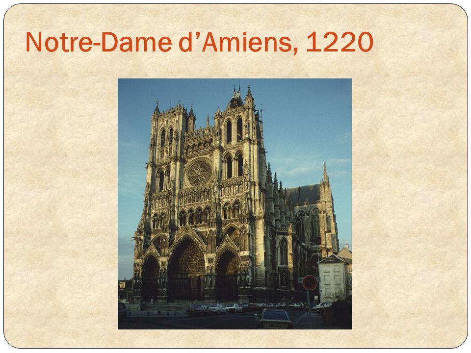 Notre-Dame d'Amiens, 1220