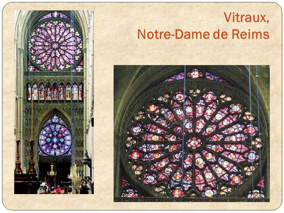 Vitraux, Notre-Dame de Reims