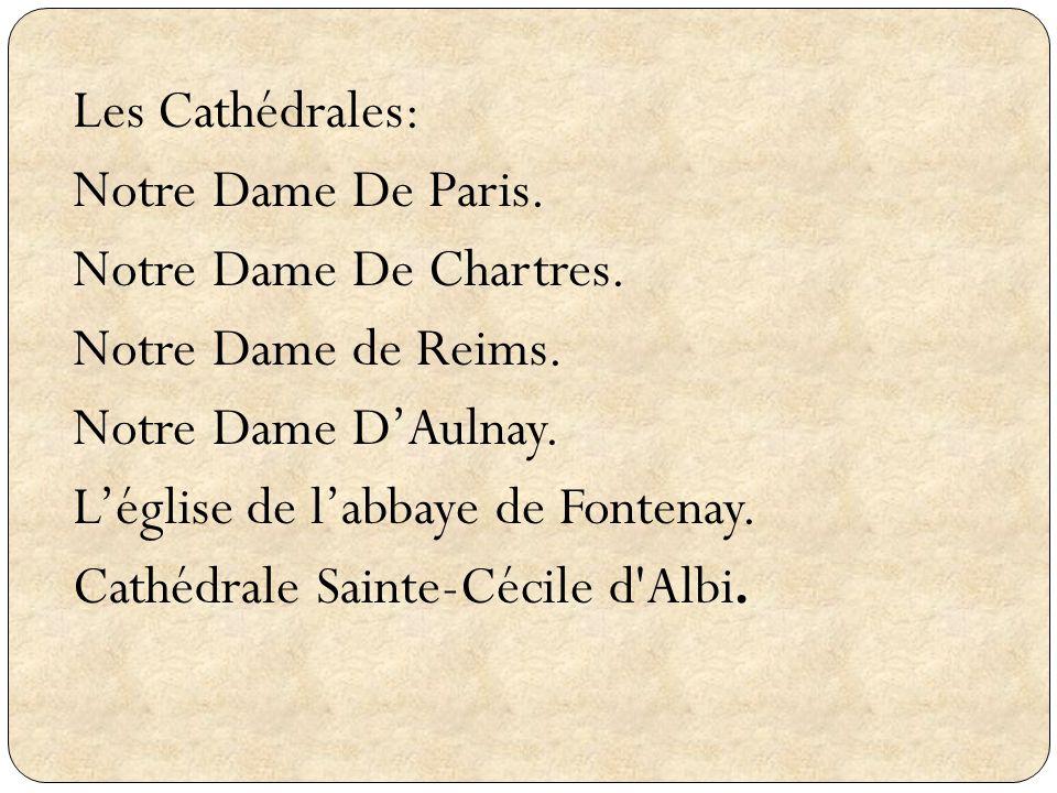 Les Cathédrales: Notre Dame De Paris. Notre Dame De Chartres