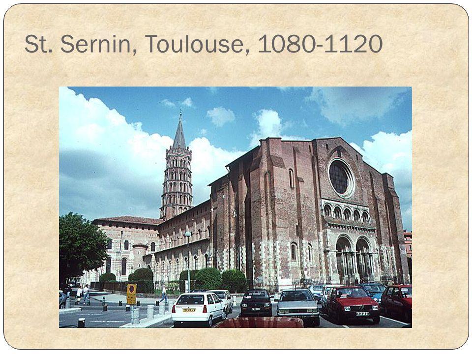 St. Sernin, Toulouse, 1080-1120