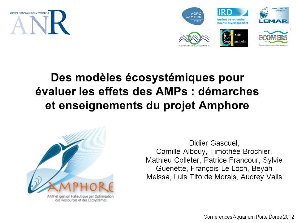 Des modèles écosystémiques pour évaluer les effets des AMPs : démarches et enseignements du projet Amphore