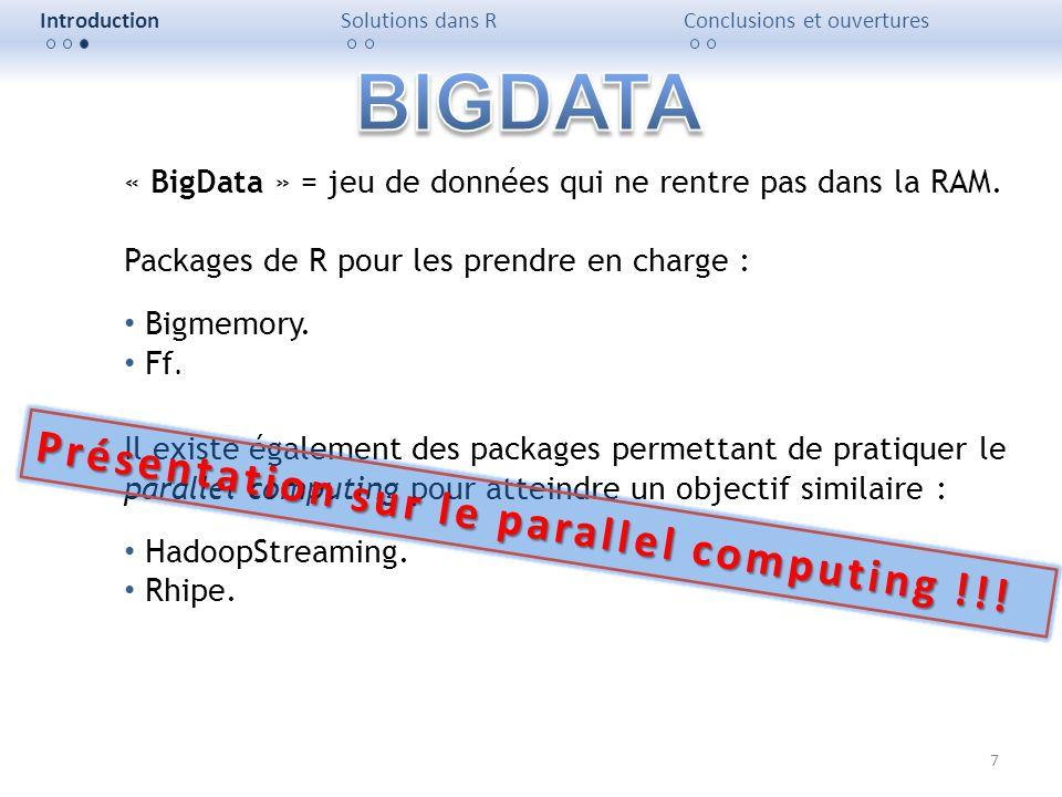 BIGDATA Présentation sur le parallel computing !!!