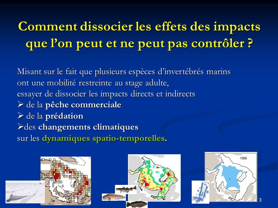 Comment dissocier les effets des impacts que l'on peut et ne peut pas contrôler