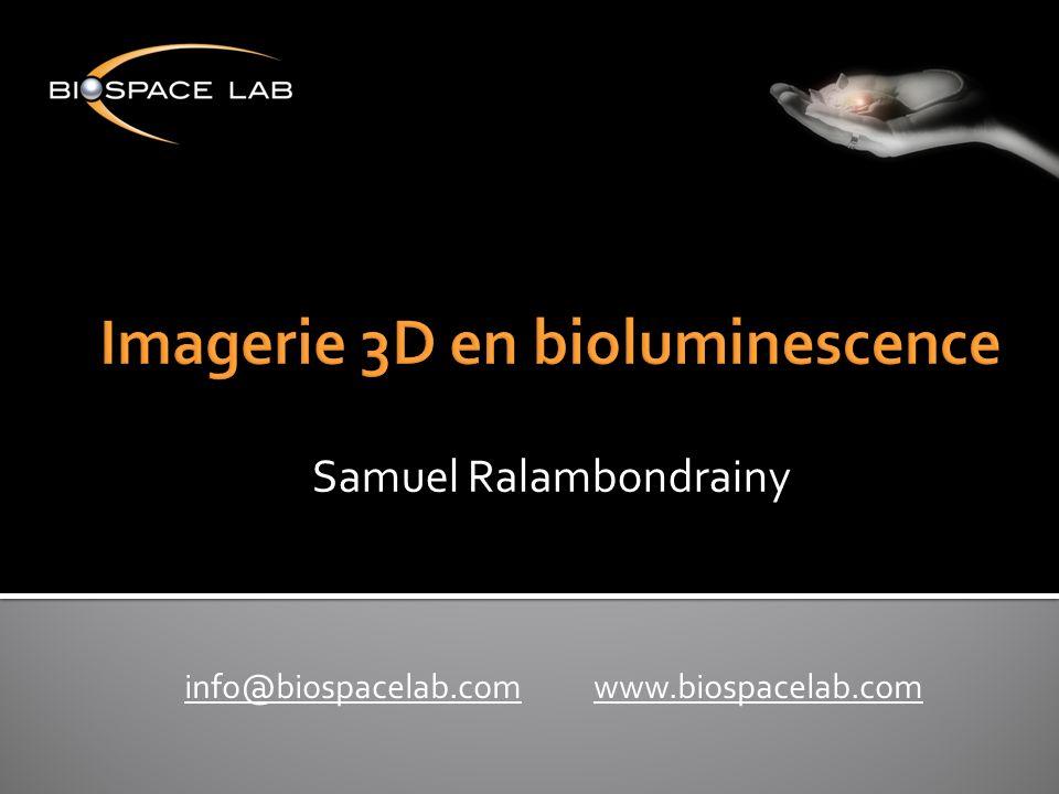 Imagerie 3D en bioluminescence