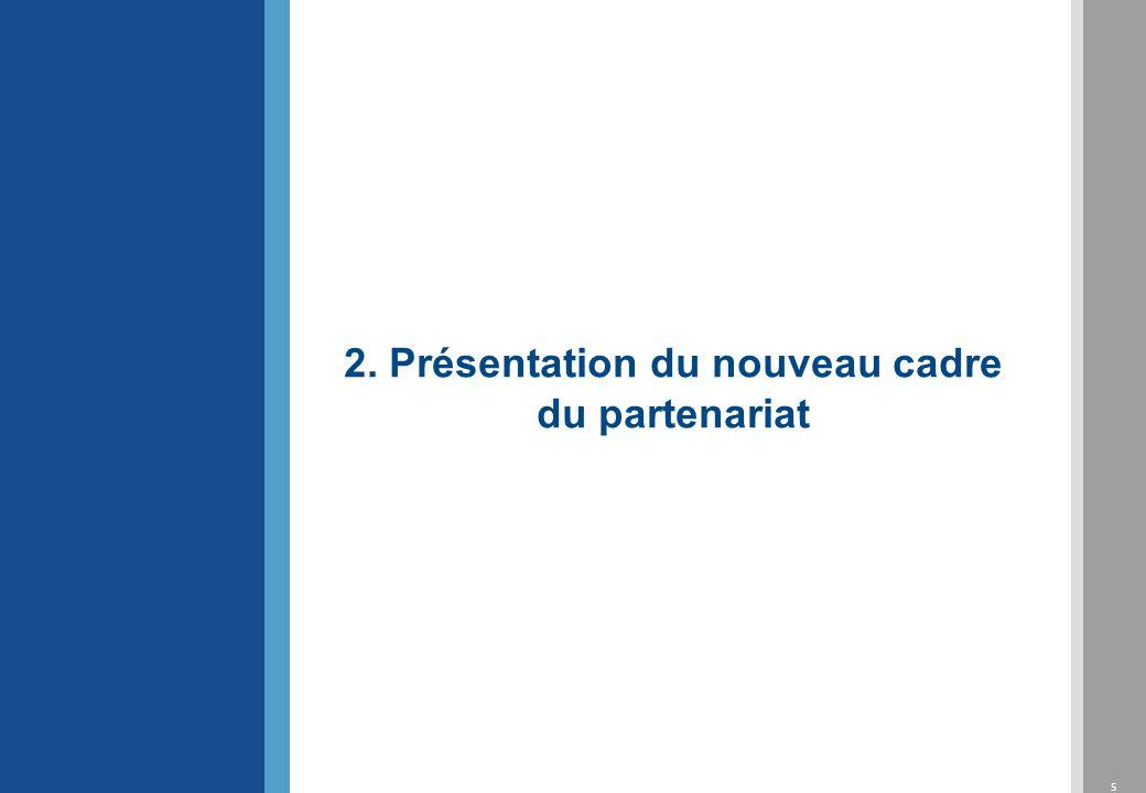2. Présentation du nouveau cadre