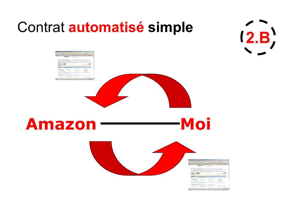 Contrat automatisé simple