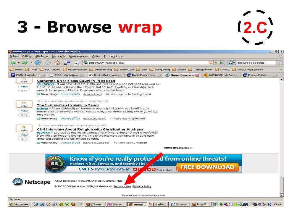 3 - Browse wrap 2.C