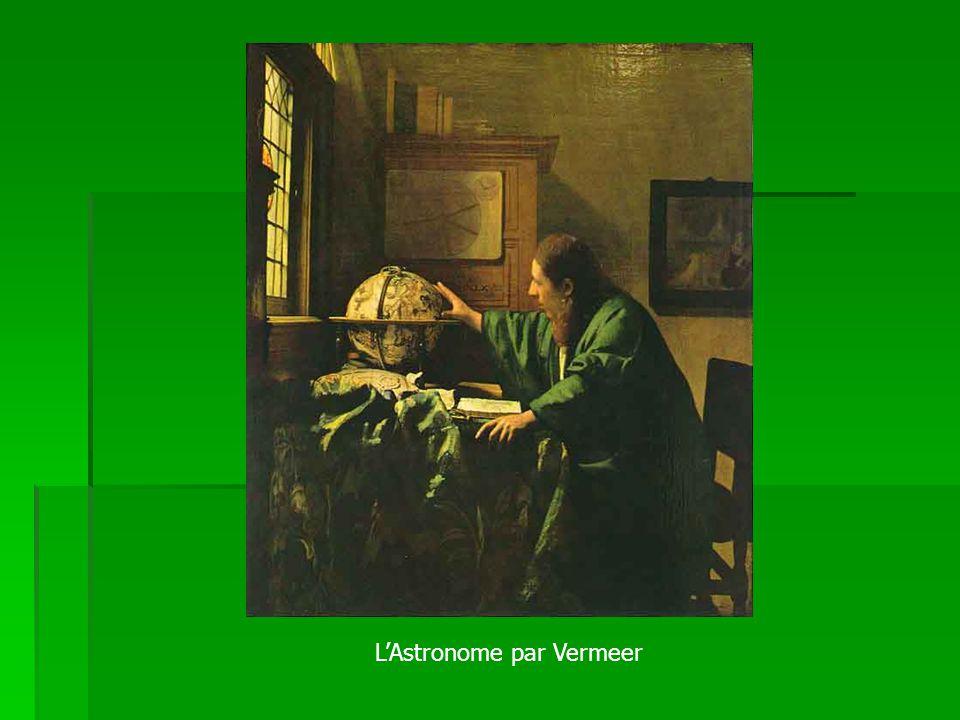 L'Astronome par Vermeer