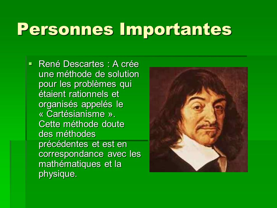 Personnes Importantes