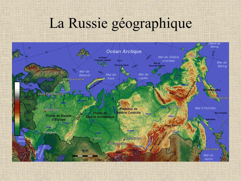 La Russie géographique