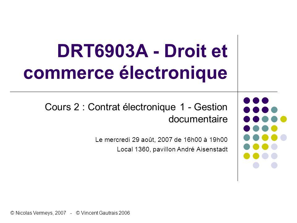 DRT6903A - Droit et commerce électronique